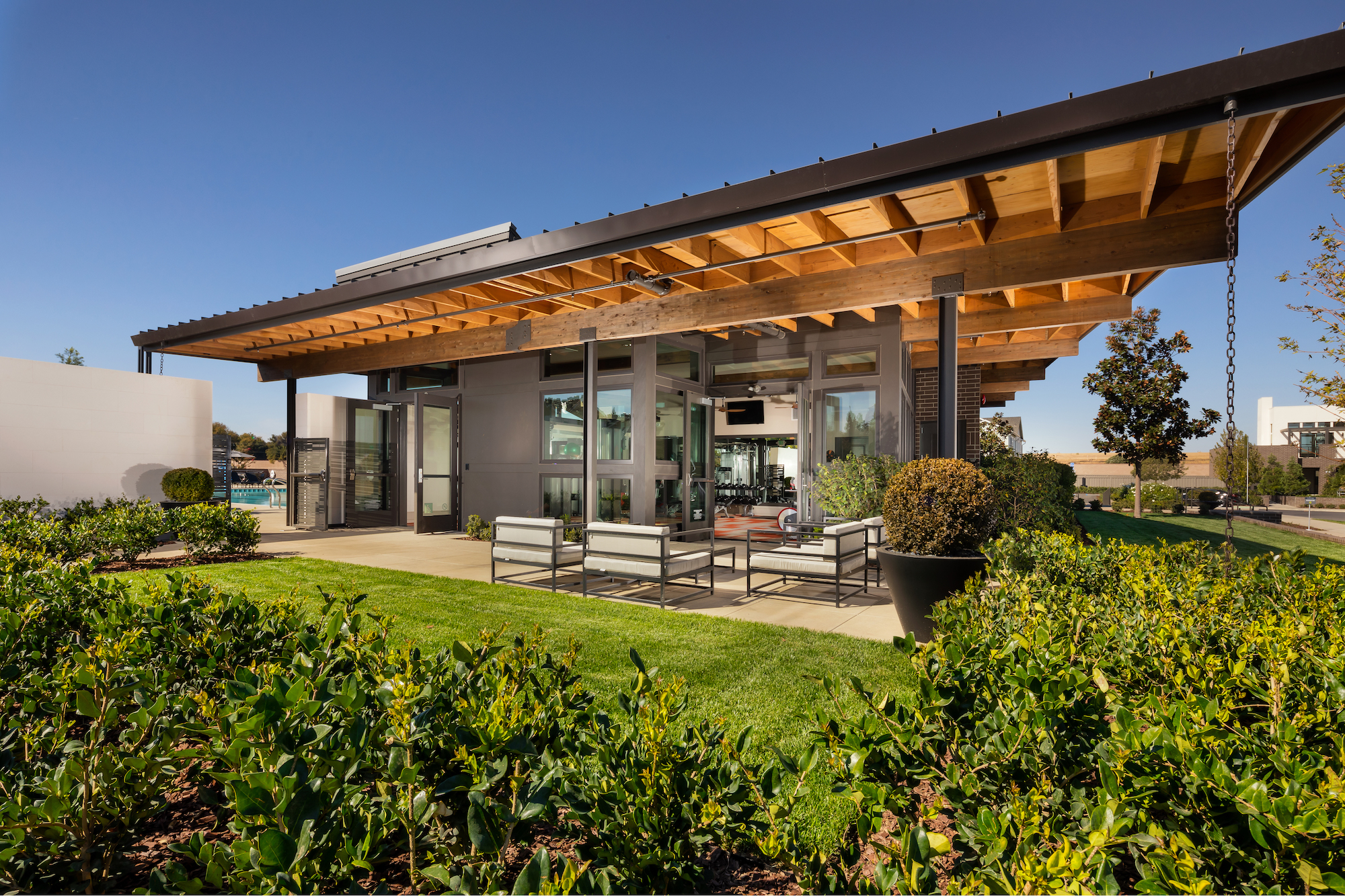 Mckinley village clubhouse mogavero architects for Architecture firms sacramento